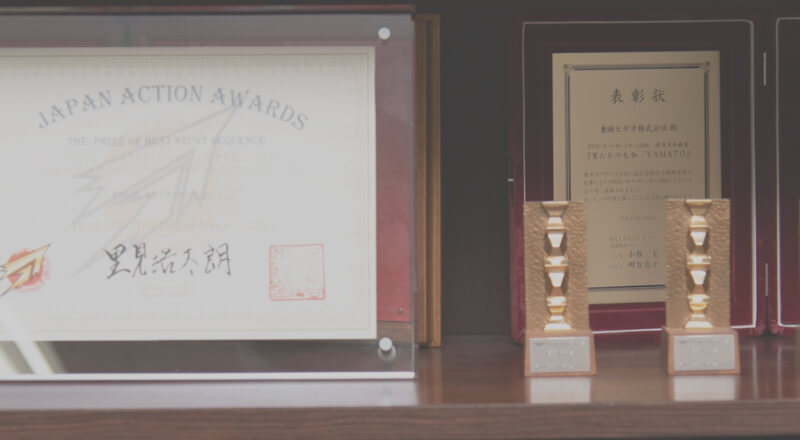 WORK AWARDS 主な作品受賞歴